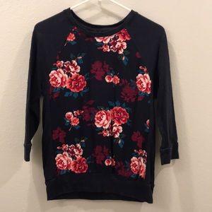 Gap floral sweater